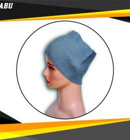 Ciput Rajut Bandana Anysa Premium- Warna Abu
