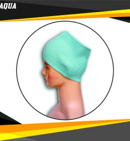 Ciput Rajut Bandana Anysa Premium- Warna Aqua