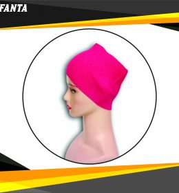 Ciput Rajut Bandana Anysa Premium- Warna Fanta