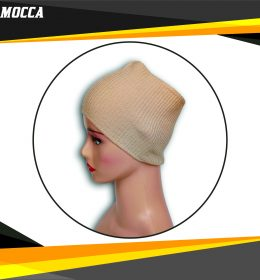 Ciput Rajut Bandana Anysa Premium- Warna Mocca