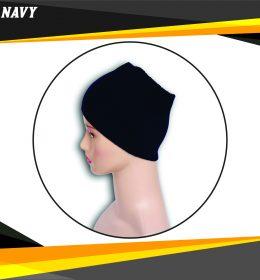 Ciput Rajut Bandana Anysa Premium- Warna Navy